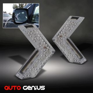 Turn Signal Arrow Blue Lights Side View Mirror Instant Upgrade