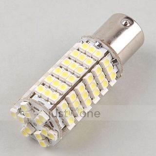 Pcs Car 1156 BA15S White 120 SMD 3528 LED Turn Signal Light Tail