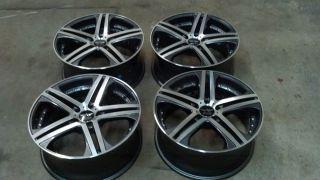 19 Avarus AV7 Set Wheels Mercedes Audi A8 5x112 32mm 798512A3272AMF