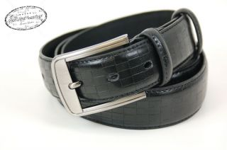 Leather Dress Mens Belt Designer Auto Lock Buckle Adjustable 5071