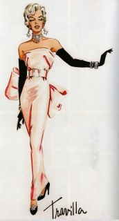 OOAK Marilyn Monroe Doll William Travilla Diamonds Costume