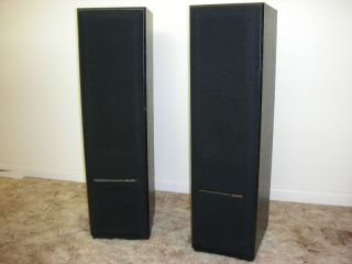Pair of Polk Audio Monitor Series RTA 8T Towers