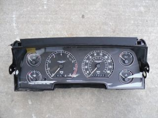 Aston Martin DB7 Vantage Instrument Cluster Speedometer