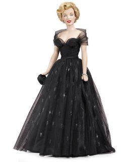 Franklin Mint Marilyn Monroe Vinyl Doll Awards Night Brand New