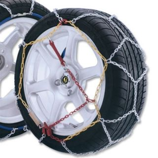 PAIR OF GUDCRAFT HIGH QUALITY PASSENGER SNOW CHAINS SIZE 80
