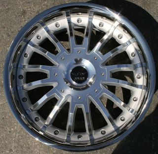 Avarus AV1 20 Silver Rims Wheels Chevy Trailblazer