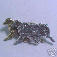 Australian Shepherd Aussie Herding Dog Pin Pendant New