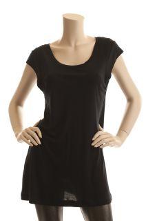 lining retail price bcbg max azria black l 100 % modal none $ 118