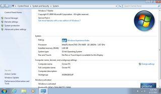 HP Mini 210 1076NR Intel Atom 10 1 Laptop Netbook