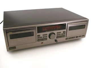 JVC TD W209 Stereo Dual Cassette Deck Tape Player Recorder w Auto