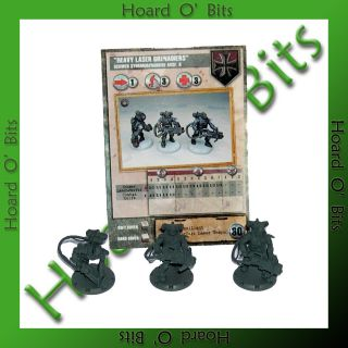 Dust Tactics Core Set Unit Heavy Laser Grenadiers Axis