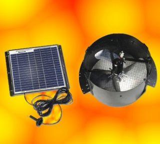 new honeywell 12w solar powered gable attic fan vent ventilator free