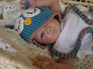 Newborn ooak reborn baby boy~LE Tamie Yarie,Serene~JOSHUA~BABY ART