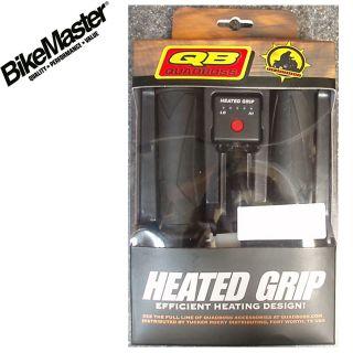 Heated Grips Hand Warmers ATV Quad Four Wheeler 5 Settings 7 8 Bars