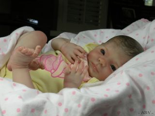 BEAUTIFUL REBORN BABY DOLL KIT~NEWBORN ELIZA /DENISE PRATT~SOFT VINYL