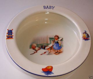 Czech Slovakia Dutch Children Baby Feeding Dish