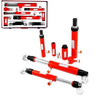Pro Quality 10 Ton Auto Body Frame Repair Hydraulic Tool Kit Porta