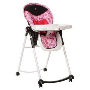 1st Adaptable Deluxe Infant Baby High Chair Applesauce HC136AJA