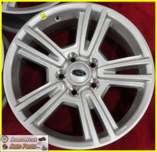 17 5x4 1 2 Silver Wheels Factory Take Off Rims Set 3808