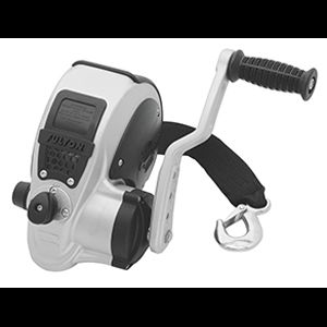 Fulton 3200 Pound lb F2 Boat Winch 2 Speed with Strap