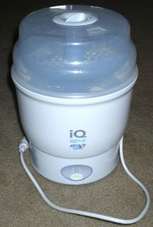 Avent IQ 24 Electric Steam Baby Bottle Sterilizer Steriliser Excellent