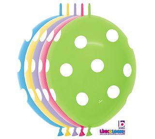 Polka Dot Linkoloon Balloons Arch Baby Wedding Birthday