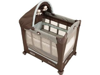 graco baby travel lite portable crib notting hill new great for