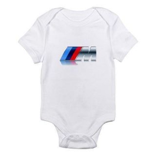 BMW New M Logo Baby One Piece Onesies Multiple Sizes
