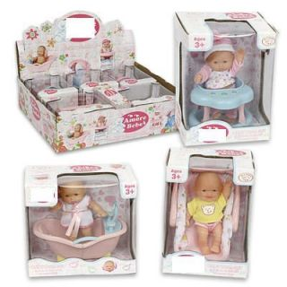 Mini Baby Doll wih Accessorys for reborn 2 OY playles car sea