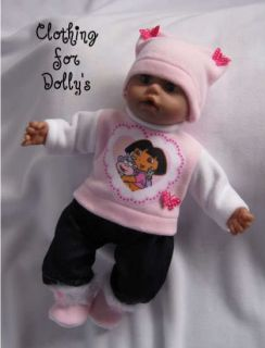 Baby Doll Clothes Outfit Fit Annabell Born 14 19 SC1