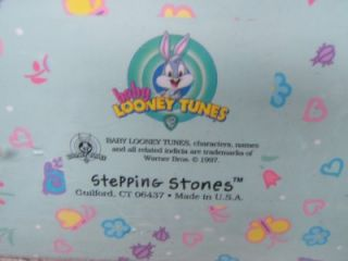 RARE 1997 Baby Looney Tunes First 5 Years Baby Record Book Road Runner