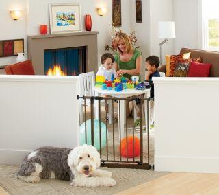 North States Easyclose Metal Baby Child Pet Safety Gate