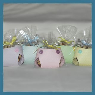 Baby Shower Favors Diaper Decorations Washcloth Candy Boy Girl Party