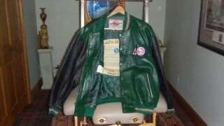 leather jacket 2XL 40th anniversary Grammy Award year Madonna won crew