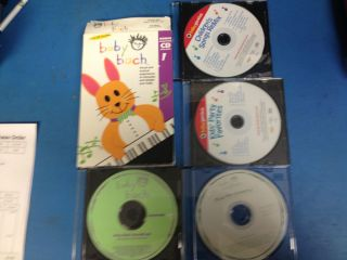 Baby Bach VHS and CD Plus 3 Bonus CDS