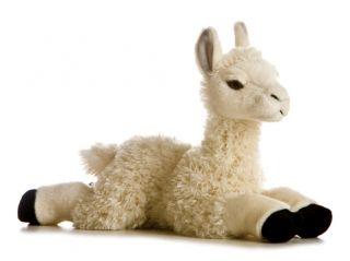 Llama Realistic Plush Toy Animal Stuffed Aurora Babies