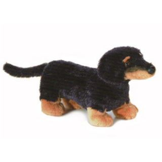 Aurora World Plush Mini Flopsie VIENNA the Daschund Dog 9 inch Stuffed