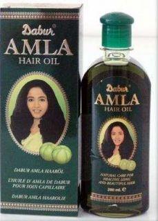 200 ml Dabur Amla Herbal Natural Care Hair Oil Indian Gooseberry