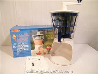 Soft Serve Ice Cream Mixer by Back to Basics Hand Operated Ready in 10