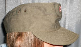 Austrian Army M43 Style Field Cap with Insignia