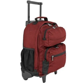 Rolling Wheeled School Student Backpack Book Bag New