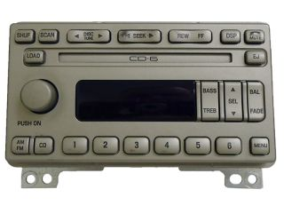 2003 Lincoln Navigator Radio 6 Disc CD Changer 2L7F 18C815 AE