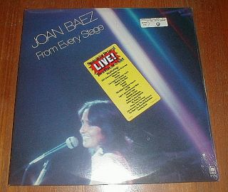 Joan Baez 1976 from Every Stage 2 LP SEALED w Sticker