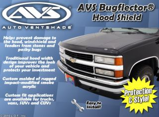 Bugflector Bug Deflector Hood Shield Ventshade Guard