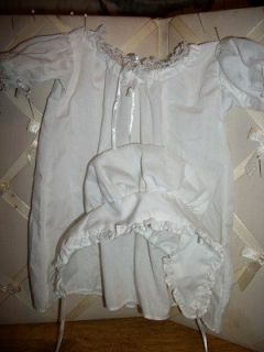 NIGHT GOWN AND NIGHT CAP FOR FELICITY AMERICAN GIRL DOLL RETIRED