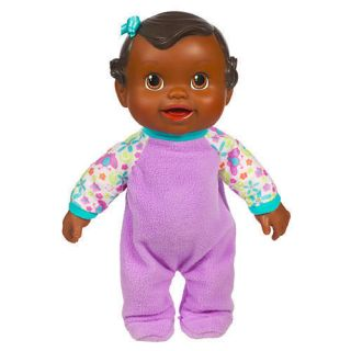 Baby Alive Bouncin Babbles Doll African American