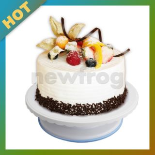 Decorating Bakery Supplies Professional Revolving Cake Plate Stand