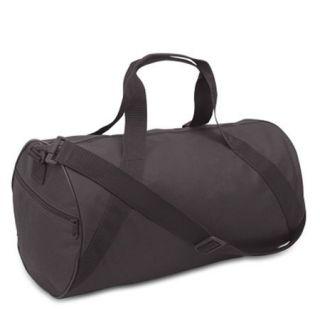 Black Barrel Duffle Gym Bags Bulk Sport Bags Wholesale Discount