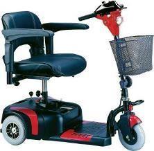 Drive Medical 3 Wheel Phoenix Scooter Bonus Free Bag