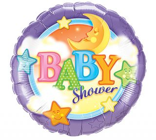 Baby Shower 18 Balloon Slumber Moon Decorations Gifts